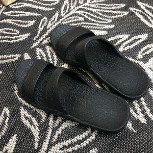 31ff4a3d53b8 Pali Hawaii · Pali Hawaii Classic Jandal (Jesus sandal)—Black